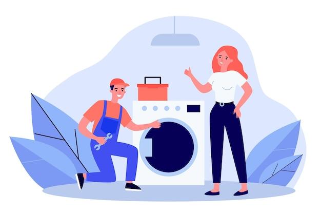 Разнорабочий ремонт стиральной машины