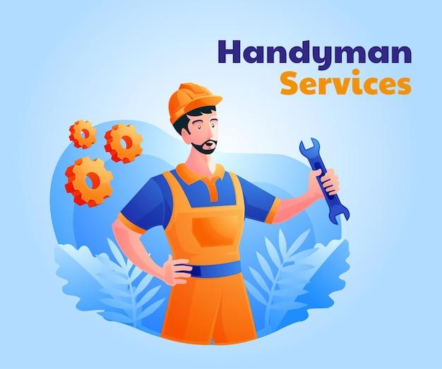 Услуги разнорабочего и домашний ремонт