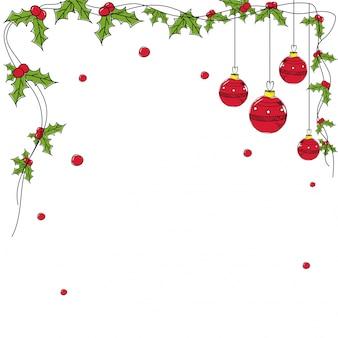 Висячие рождественские шары