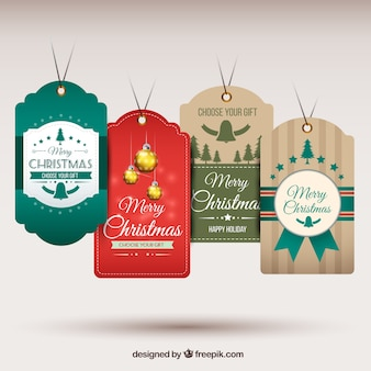 Hanging tag natale