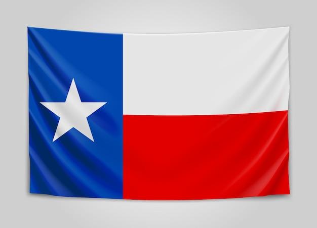 Подвешенный флаг техаса