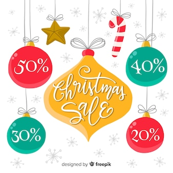 Hanging ornaments christmas sale background