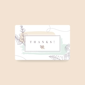 Hank you label theme