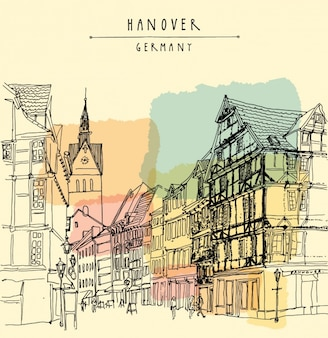 Hannover background design