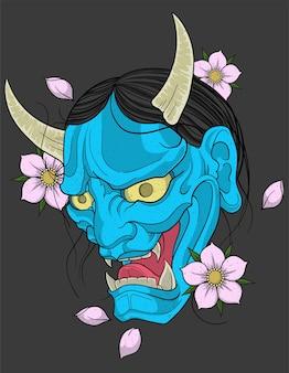 Hannya demon tattoo