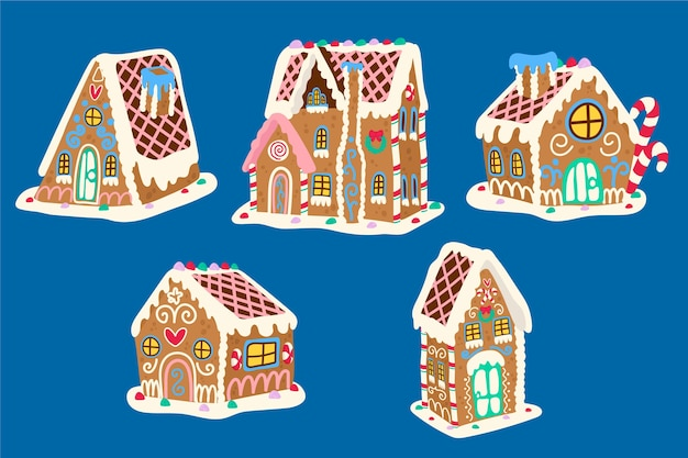 Hansel and gretel story with gingerbread house