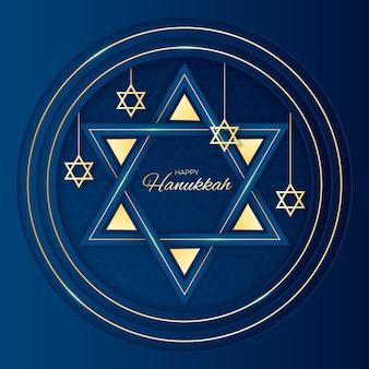 Hanukkah in stile carta