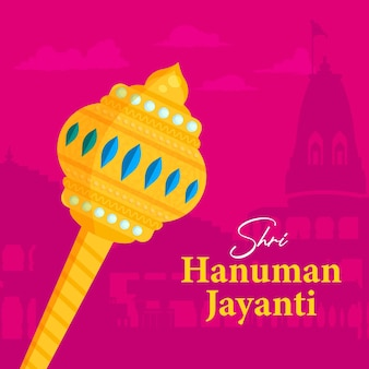 Hanuman jayanti 배너 디자인