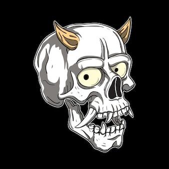 Hanya skull head