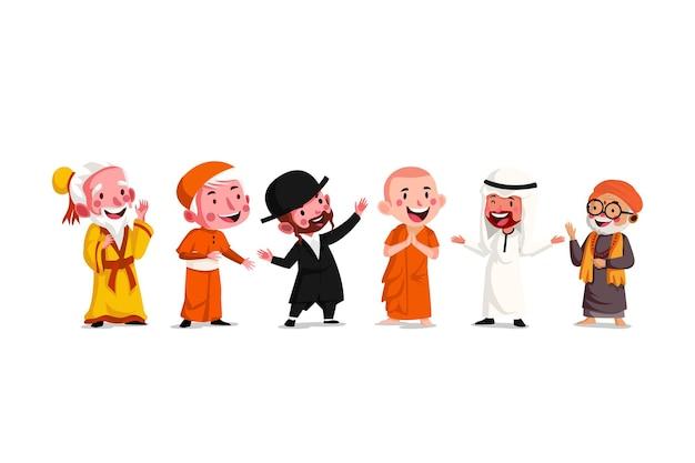 宗教の多様性における幸福