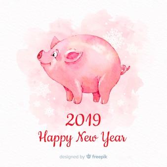Happy китайский новый год 2019