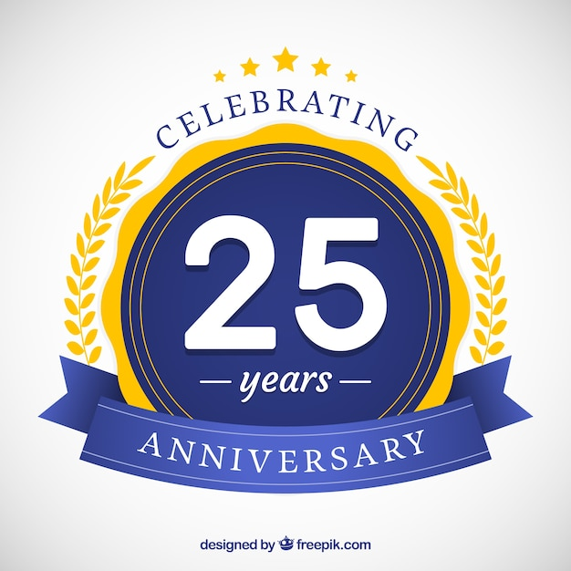 25 years vectors photos and psd files free download rh freepik com 25 years logo vector free 25 years logo free
