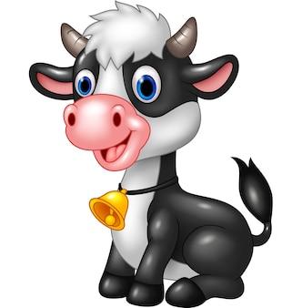 Happy animal baby cow