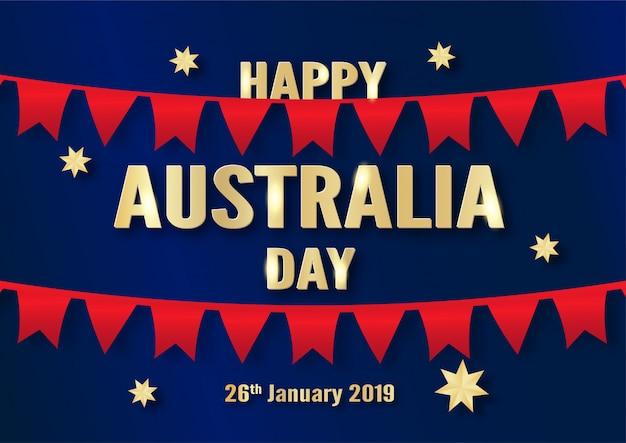 Happy australia day on 26 january.