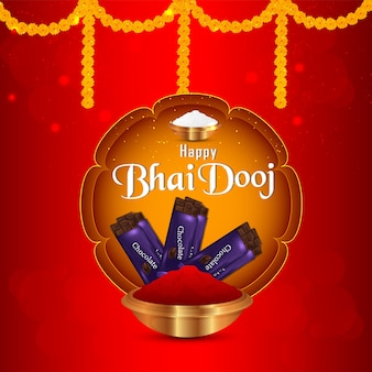 Happy bhai dooj, the festival of indian tradition