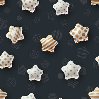 Happy birthday. beautiful seamless pattern