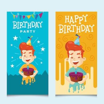 お誕生日おめでとうカードセット