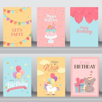 Happy birthday cute card