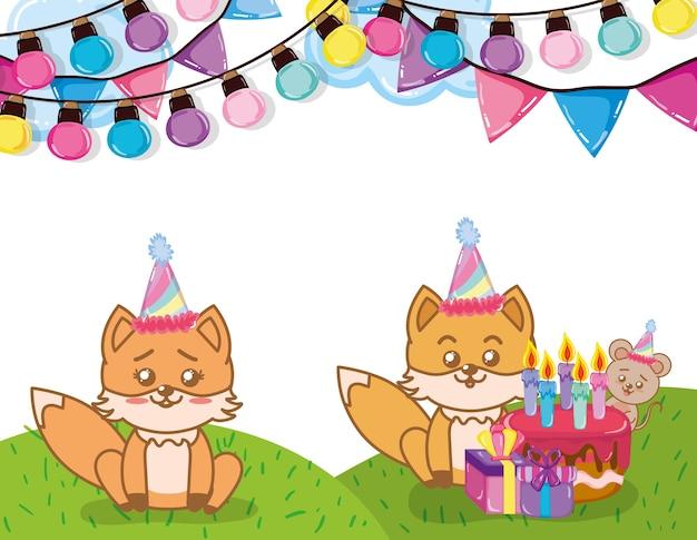 Happy birthday foxes
