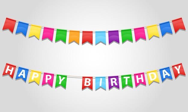 白のフラグでお誕生日おめでとう碑文テキスト