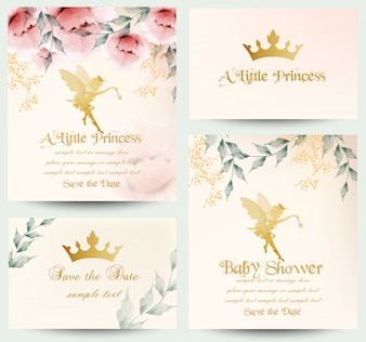 Happy birthday little princess cards collection