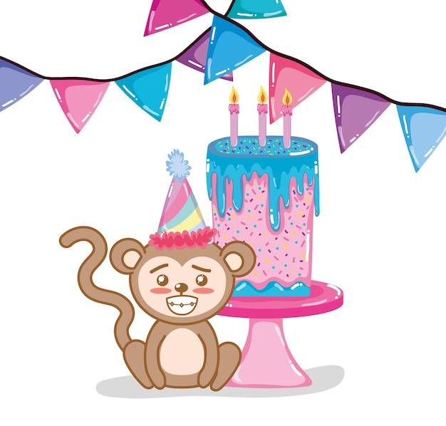 Happy birthday monkey