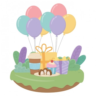 Happy birthday surprise