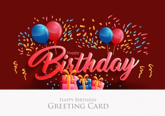 Happy Birthday Fonts ~ Birthday card font image collections birthday cards ideas