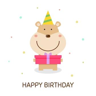Happy birthday. vector illustration.