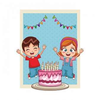 Happy bithday kids card