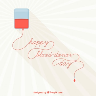 Happy blood donor day background