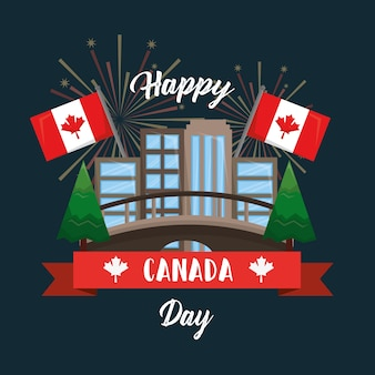 Счастливый день в канаде