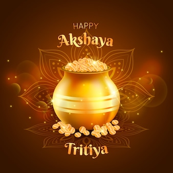 Happy celebration akshaya tritiya day