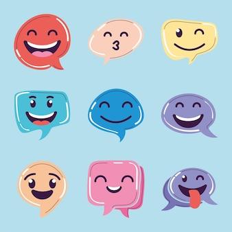 Счастливые пузыри чата