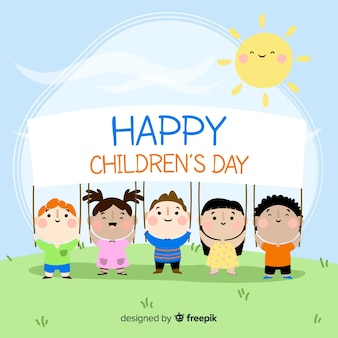 Happy children's day background