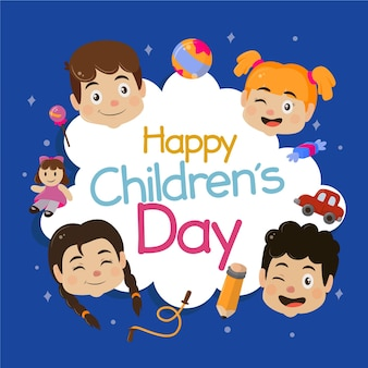 Happy children's day celebration