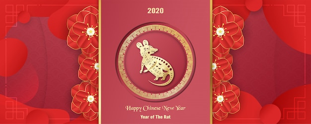 Happy chinese new year 2020, year of the rat.