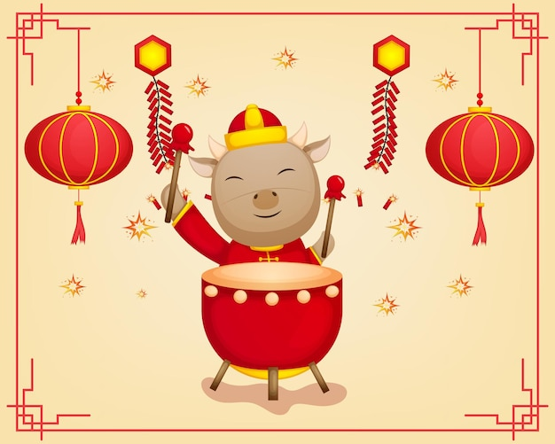 Happy chinese new year festival