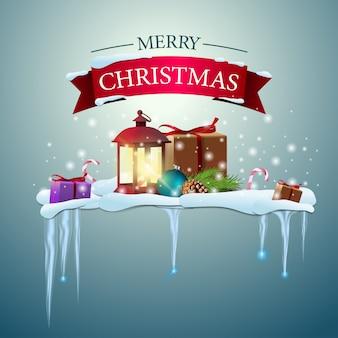 Happy christmas logo