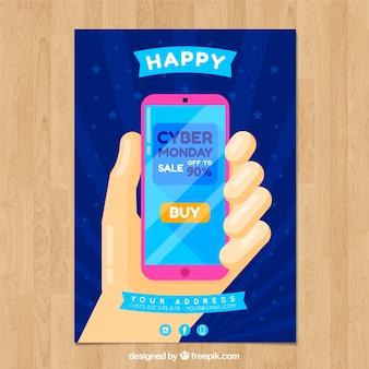 Happy cyber monday brochure