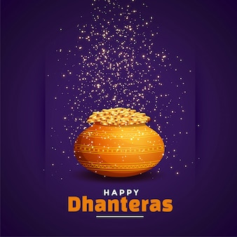 Happy dhanteras background