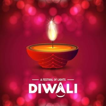 Happy diwali creative design