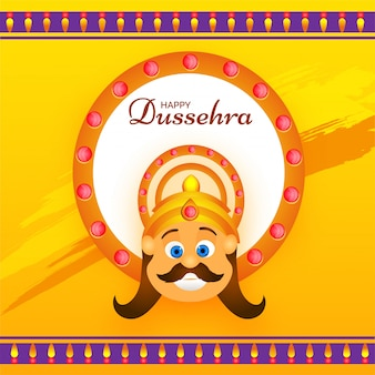 Happy dussehra background.