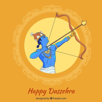 Happy dussehra background