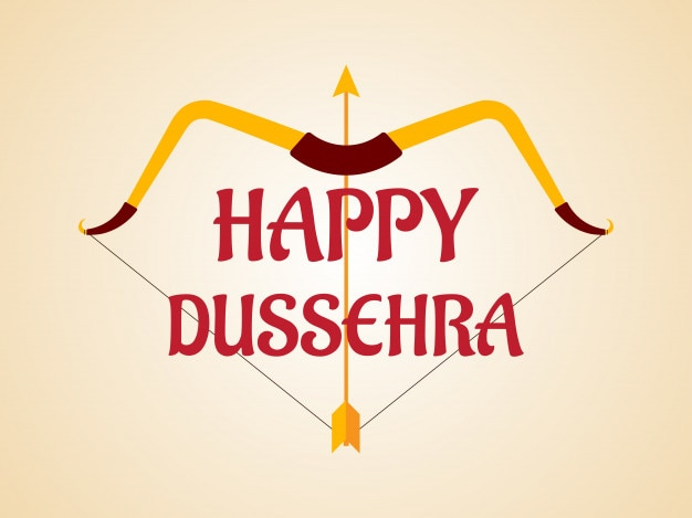 Happy dussehra festival background