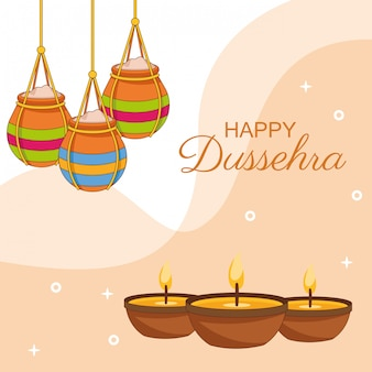 Happy dussehra festival of india