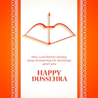 Happy dussehra festival wishes card background