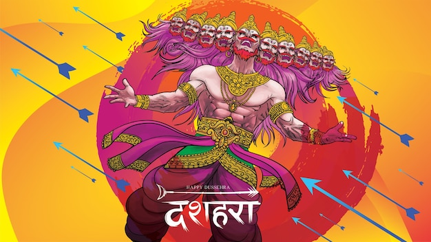 Happy dussehra navratri. translation : dussehra