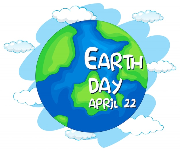 Happy earth day, april 22