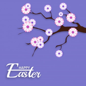 Happy easter background.